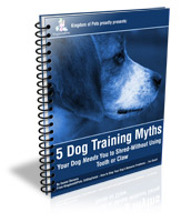 5 Dog Training Myths