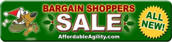 Agility Equipment Bargain Shoppers Sale