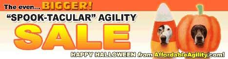 Affordable Agility Spooktacular Sale