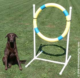 Tire Jumps at AffordableAgility.com