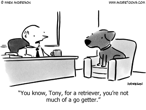 Australian Shepherd Lovers - Cartoon of the Week - from Andertoons.com