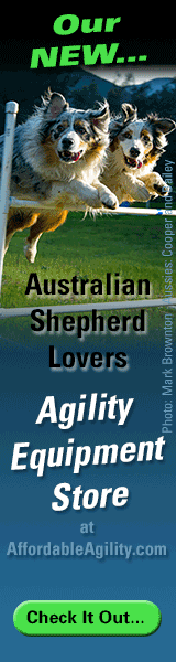 Australian-Shepherd-Lovers.com Agility Equipment Store at Affordable Agility.com