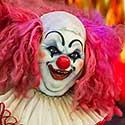 Spooky Evil Clown