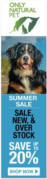 Only Natural Pet Store - Summer Sale