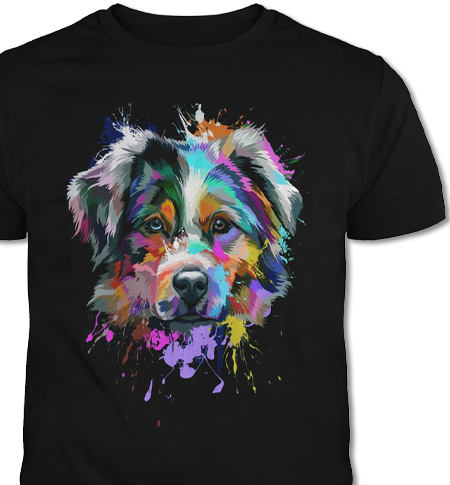 Australian Shepherd T-Shirt Of The Month