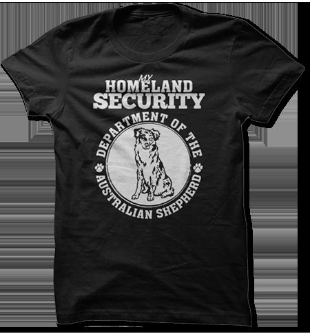 My Homeland Security - Department of the Australian Shepherd