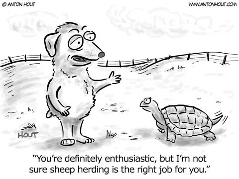 Australian Shepherd Lovers - Cartoon of the Week - from Andertoons.com
