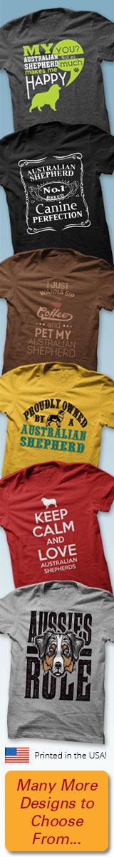 Australian Shepherd T-Shirts