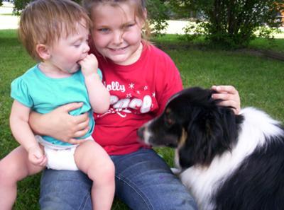 Cody and some of my grandchildren