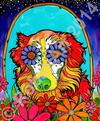 Kelly the Australian Shepherd, Copyright RobiniArt 2014