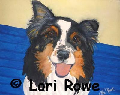 Beauregard 1998-2011 watercolor on art rag. www.artbylorirowe.com